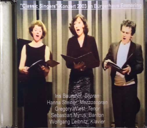 Hanna Steiner - Classic Singers